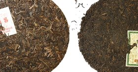 Comparing sheng and shu pu'er