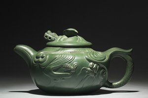 "Teapot ""Fish changed to Dragon"" 鱼化龙壶"