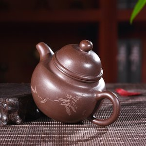 Piled Ball Shaped Teapot 掇球壶